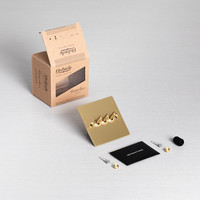 3G Toggle switch / Brass / Buster+Punch