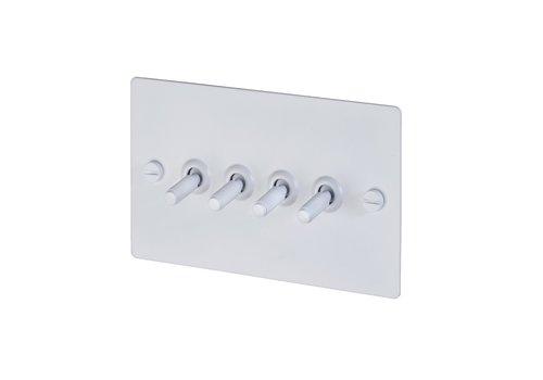 4G Toggle switch / White