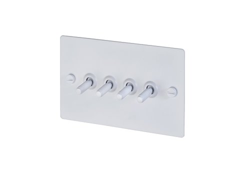 Interrupteur à bascule 4G / Blanc