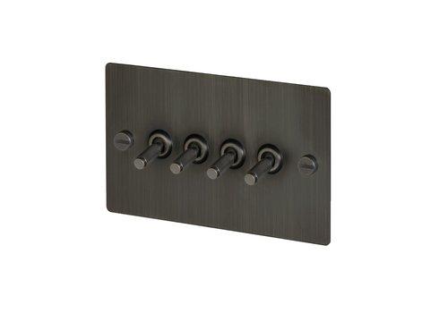 4G Toggle switch / Smoked Bronze