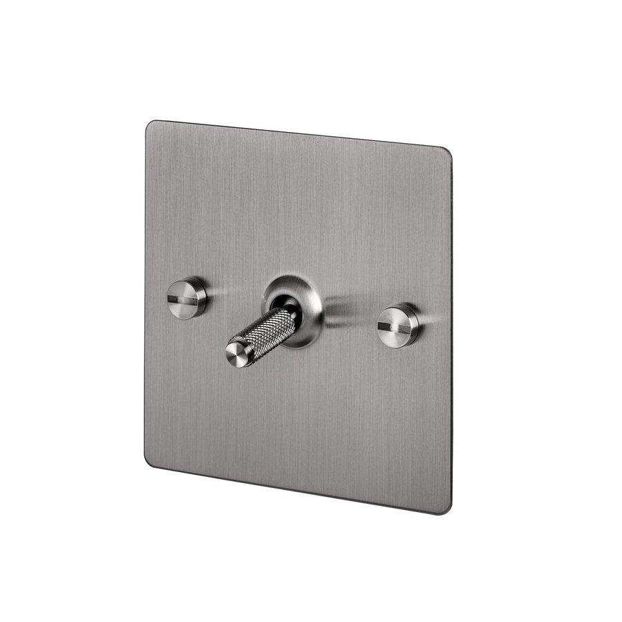 1G Intermediate Toggle switch / Steel