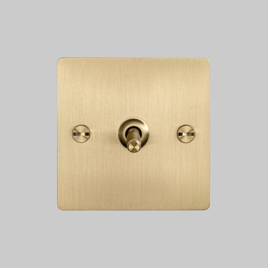 1G Intermediate Toggle switch / Brass