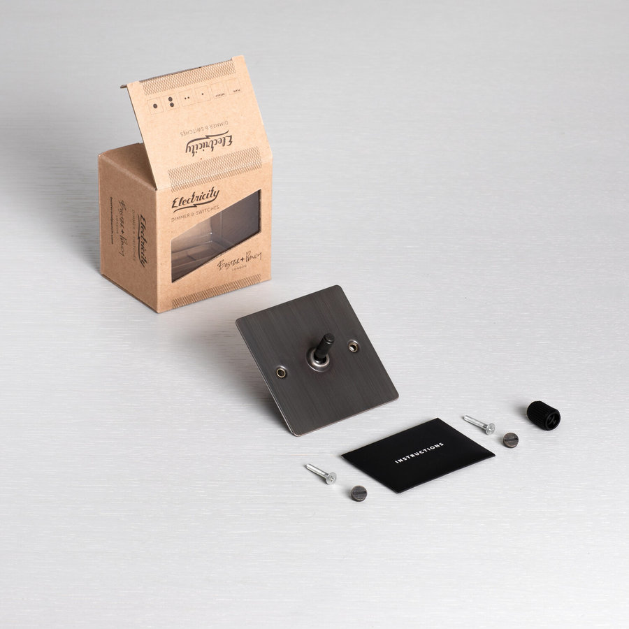 1G Intermediate Toggle switch / Smoked Bronze