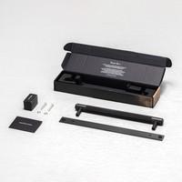 Smoked Bronze meubelgreep / Plaat / Cross / Buster&Punch