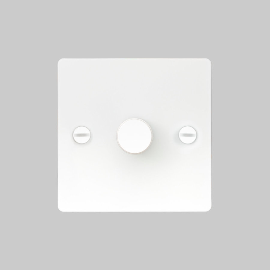 1G Dimmer switch / White / Buster+Punch