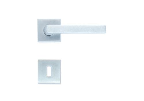 Solid Cromsat door handles Luis with BB
