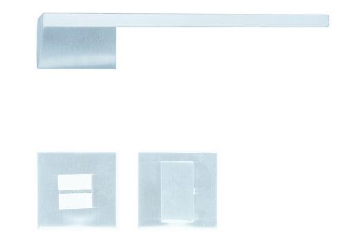 Solid Cromsat door handles Seliz with WC
