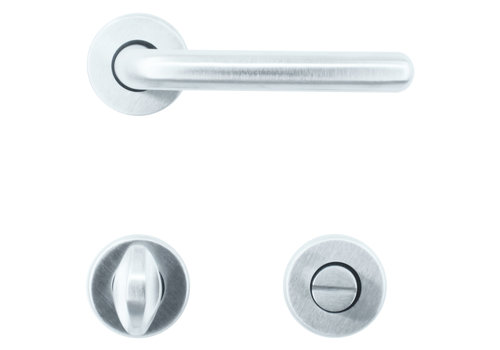 Solid Cromsat door handles Titiana with WC