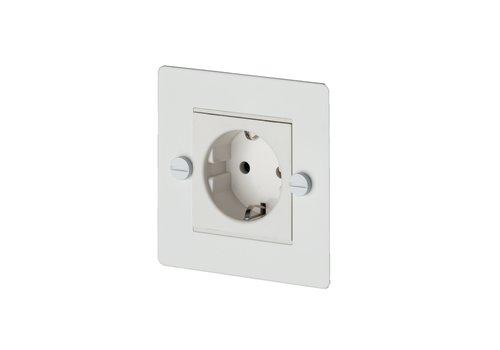 1G Euro socket / White
