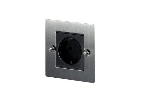 1G Euro socket / Steel