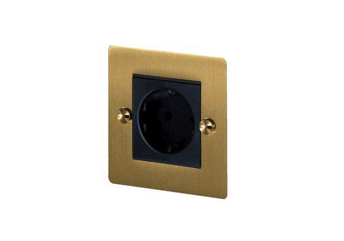 1G Euro socket / Brass