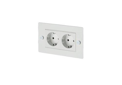 2G Euro socket / White