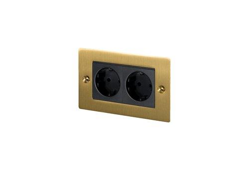 2G Euro socket / Brass