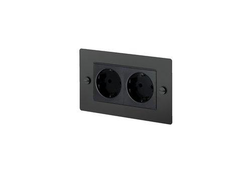 2G Euro socket / Black