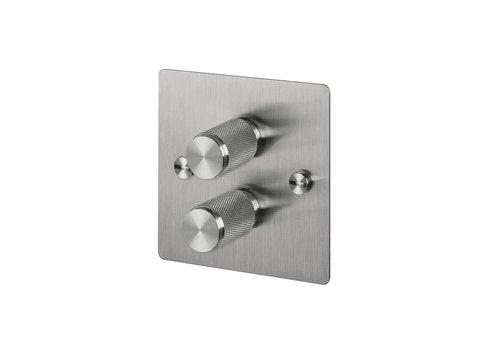 2G Dimmer switch / Steel