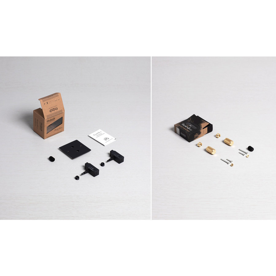 2G Dimmer switch / Black / Buster+Punch