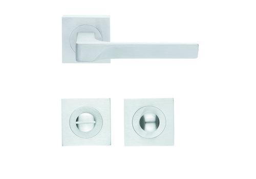 Solid Cromsat door handles Flash with WC