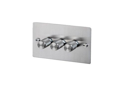 3G Dimmer switch / Steel