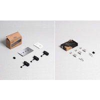 3G Dimmer switch / Steel / Buster+Punch