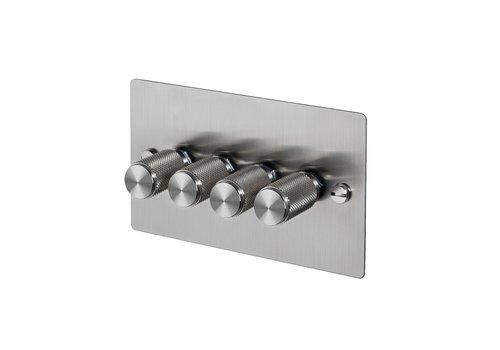 4G Dimmerschalter / Stahl