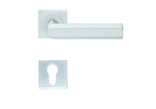 Solid Cromsat door handles Exa with PZ