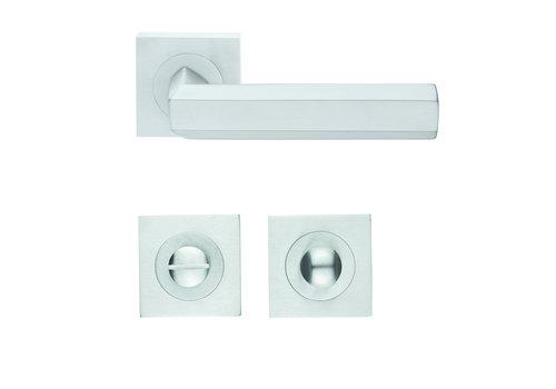 Solid Cromsat door handles Exa with WC
