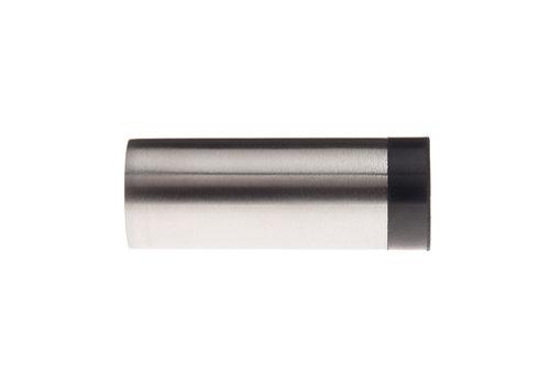 Cilindrische muurdeurstop RVS 30x60mm