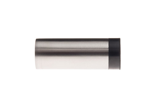 Cylindrical wall doorstop stainless steel 30x60mm