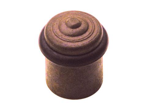 Floor door stop rust floor mounting Ø30x46mm