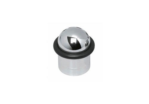 Butée de porte Intersteel avec anneau en chrome