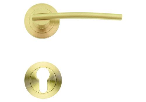 deurklinken Mirca mat koper met PZ
