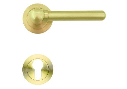 door handles Via matt copper with PZ