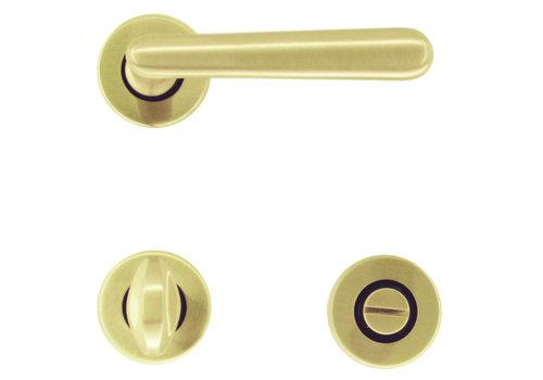 Door handles Vera matt copper with WC fittings