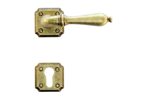 door handle Lisa old yellow with PZ