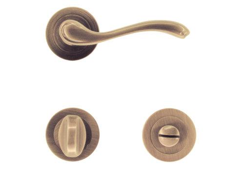 Door handles Erica bronze with PZ - Copy