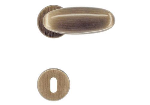 deurklinken Olive brons met BB