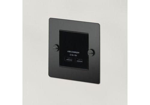 1G USB-Ladegerät / Schwarz