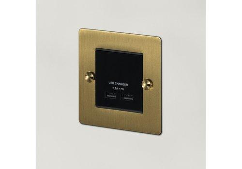 1G USB-Ladegerät / Messing
