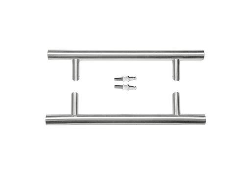 RVS deurgrepen ST 32/300/460 paar voor glas