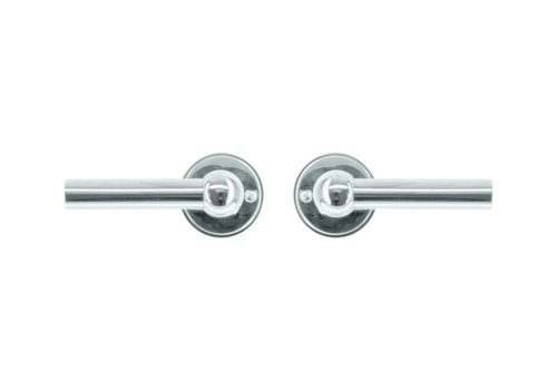Door handles Petana L+L nickel without BB