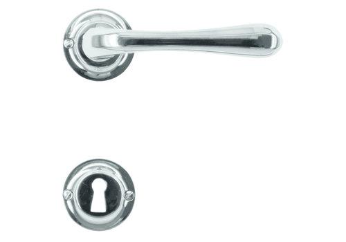 Door handle Gretana nickel with BB