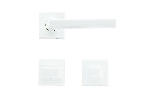 Witte deurklinken Luïs met WC