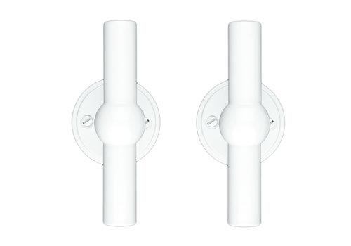 White door handles Petana T+T without BB
