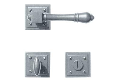 Iron door handles Carre with WC