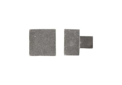 Furniture knob PQ-45 raw metal 45mm
