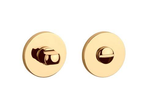 WC-Set rund Gold PVD