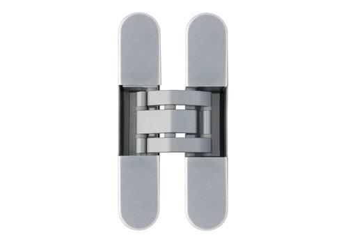 Invisible 3D hinge matt silver Otlav IN230