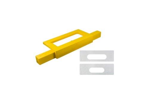 Nylon milling jig for 3D Otlav Invisacta IN230