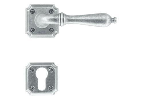 Old silver door handles Lisa with PZ