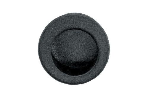 Black encapsulated shell fingertip